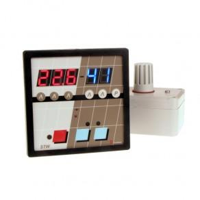 Regulator temperatury i wilgotności STW z układem pomiarowym UPWT 3%
