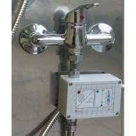Ekonomiczny prysznic moduł odmierzający wodę