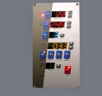 Sterownik pieca modułowego USPETD z programami i zegarem czasu rzeczywistego