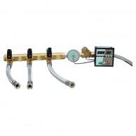 Układ regulacji zaparowania USP-Z z dwoma elektrozaworami